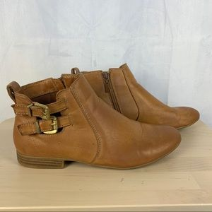 2 for $20 CALL IT SPRING tan ankle booties SZ 9